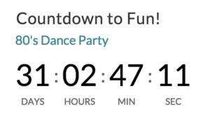 Event Countdown Widget in Events Calendar Pro