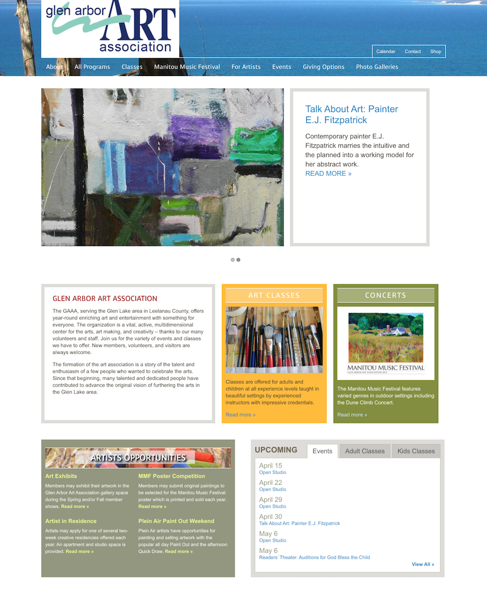 showcase - glenarbor- home page