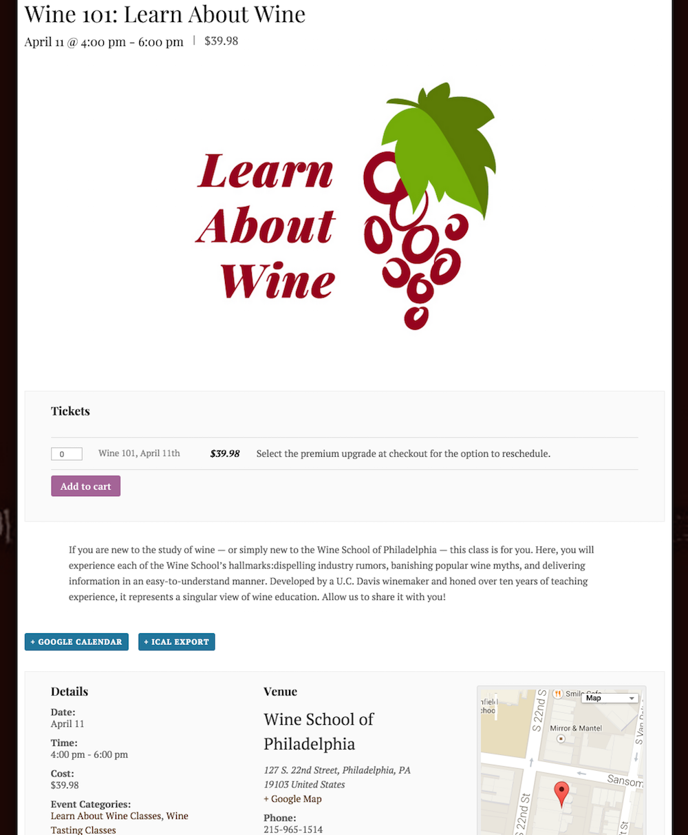 showcase - wine school - event with tickets 3