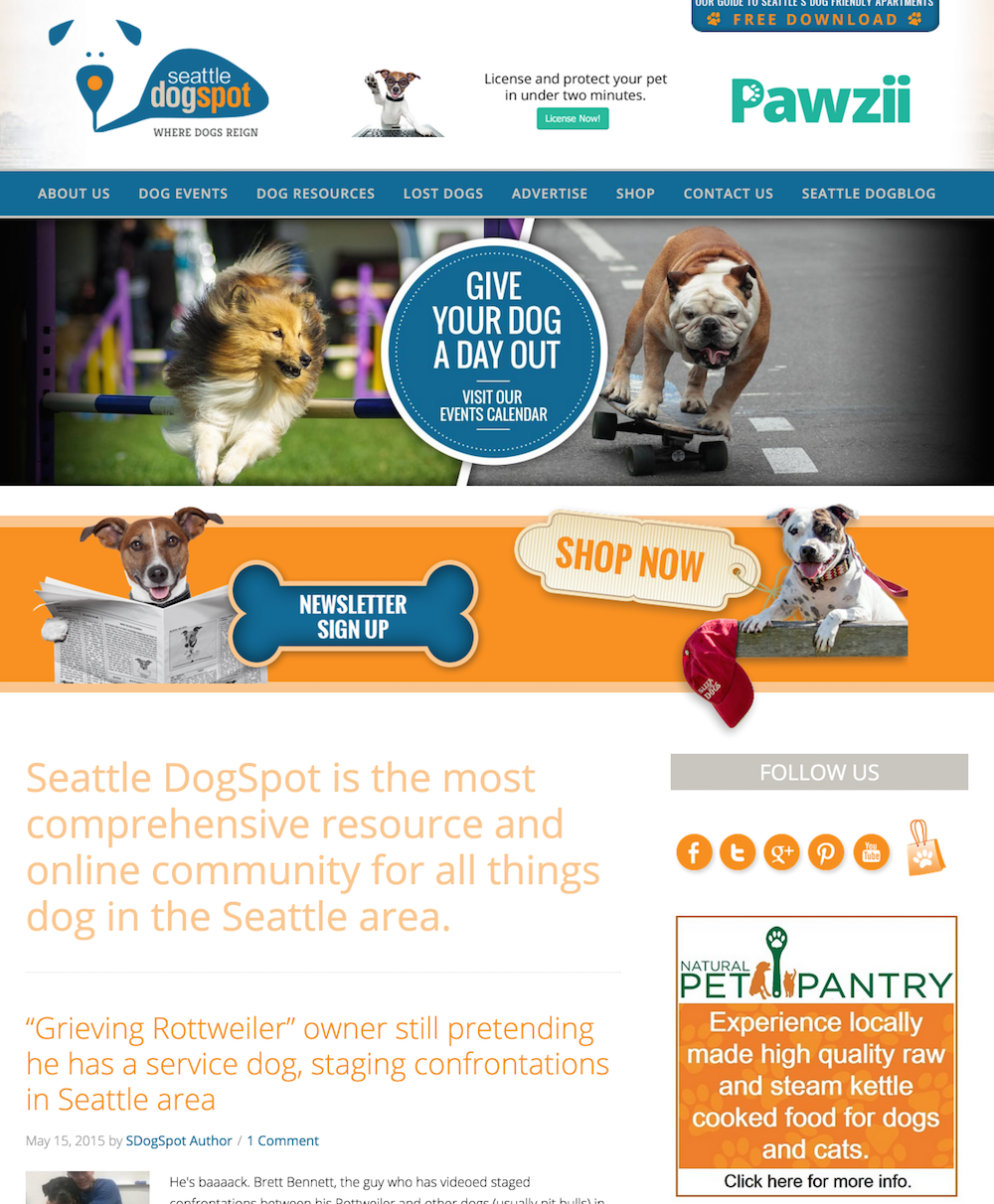 showcase - dogspot - home page 1