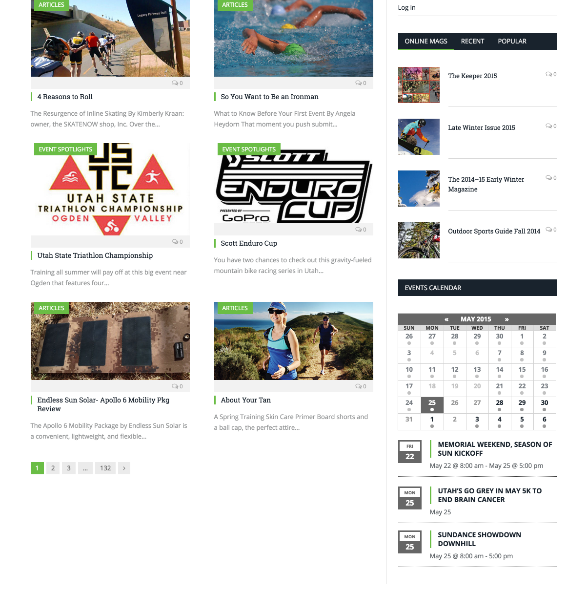 showcase - sportsguidemag - home - widget