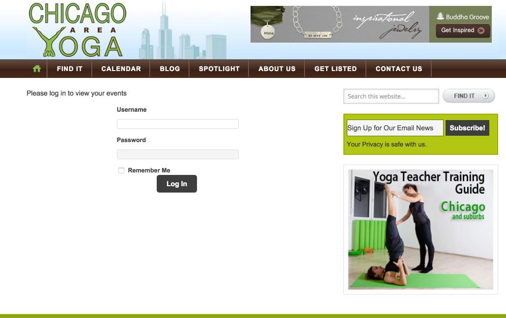 showcase - chicago yoga - community
