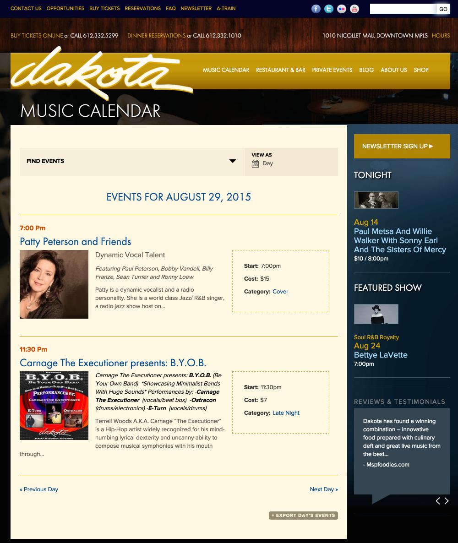 showcase - dakota - day view