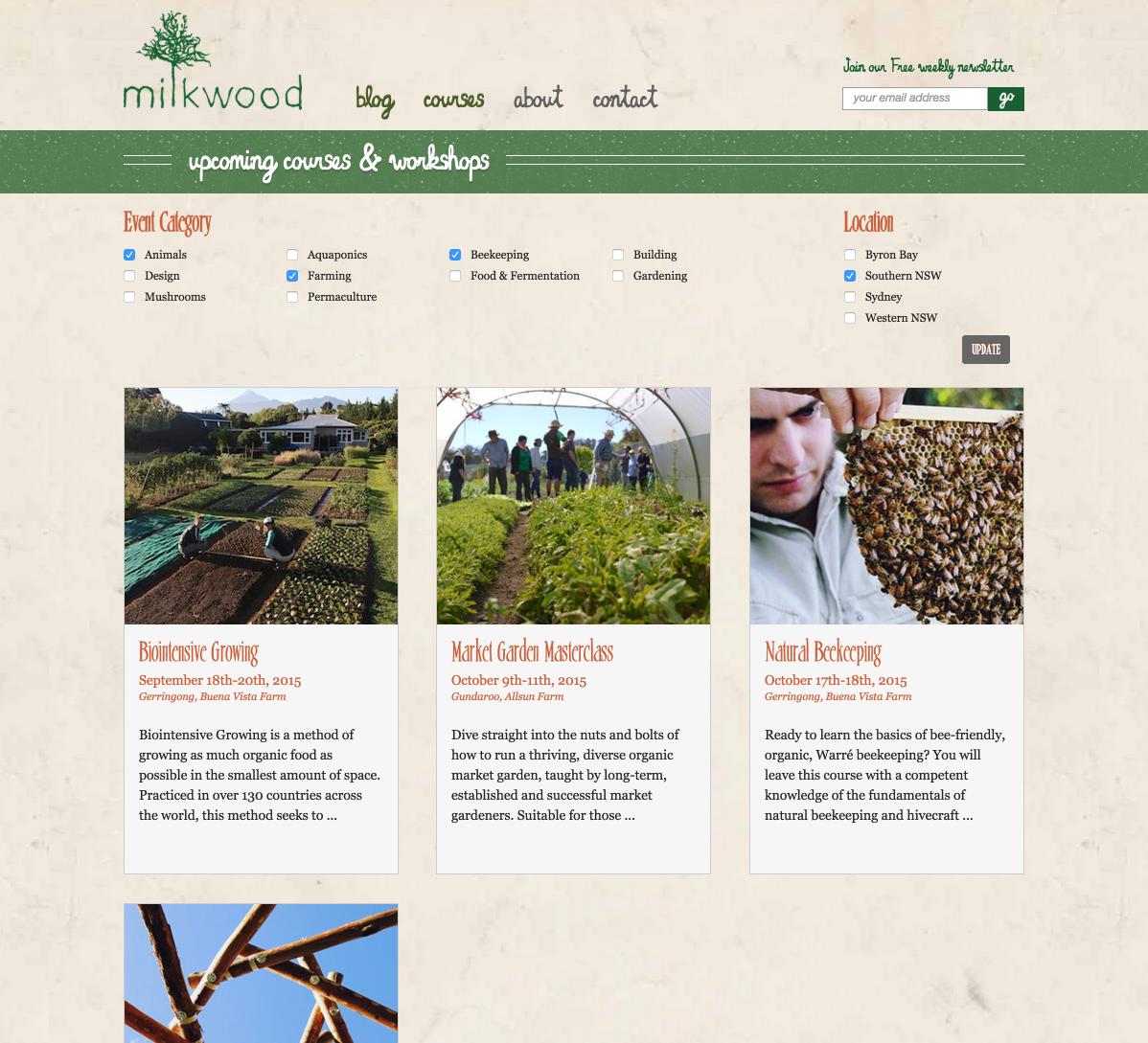 showcase - milkwood - filters