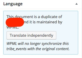 "Make sure you hit the ""Translate independently"" button right after step 2"