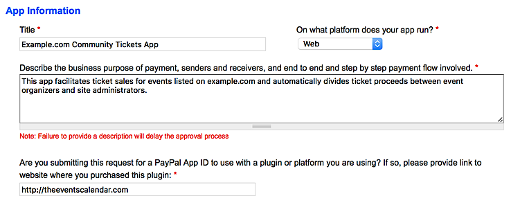 Community Tickets: Configuring PayPal Adaptive Payments (Legacy)