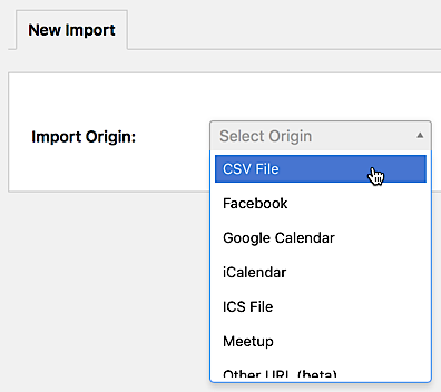Importing Data from a CSV File