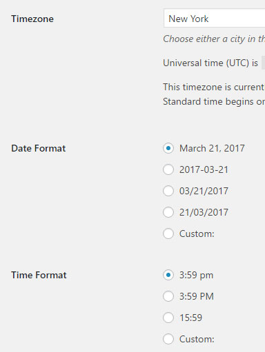 Time format when creating events only uses 24 hour   The