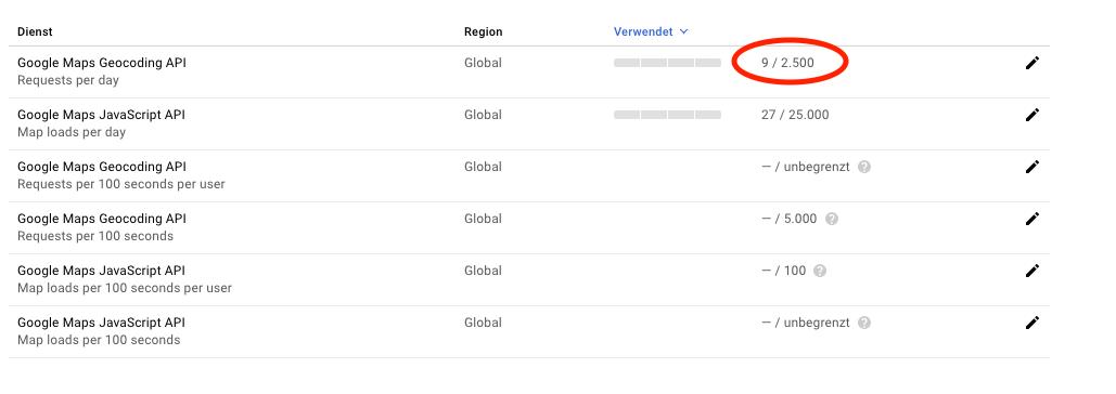 Geocoding fails with working API key | The Events Calendar