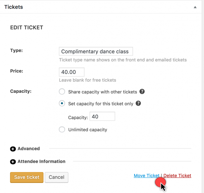 move tickets