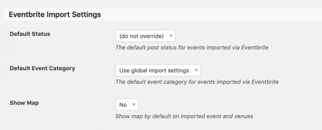 The (do not override) Status in Settings