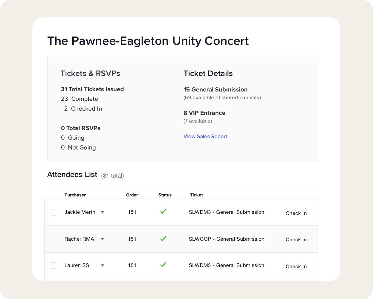 Gestión robusta de tickets